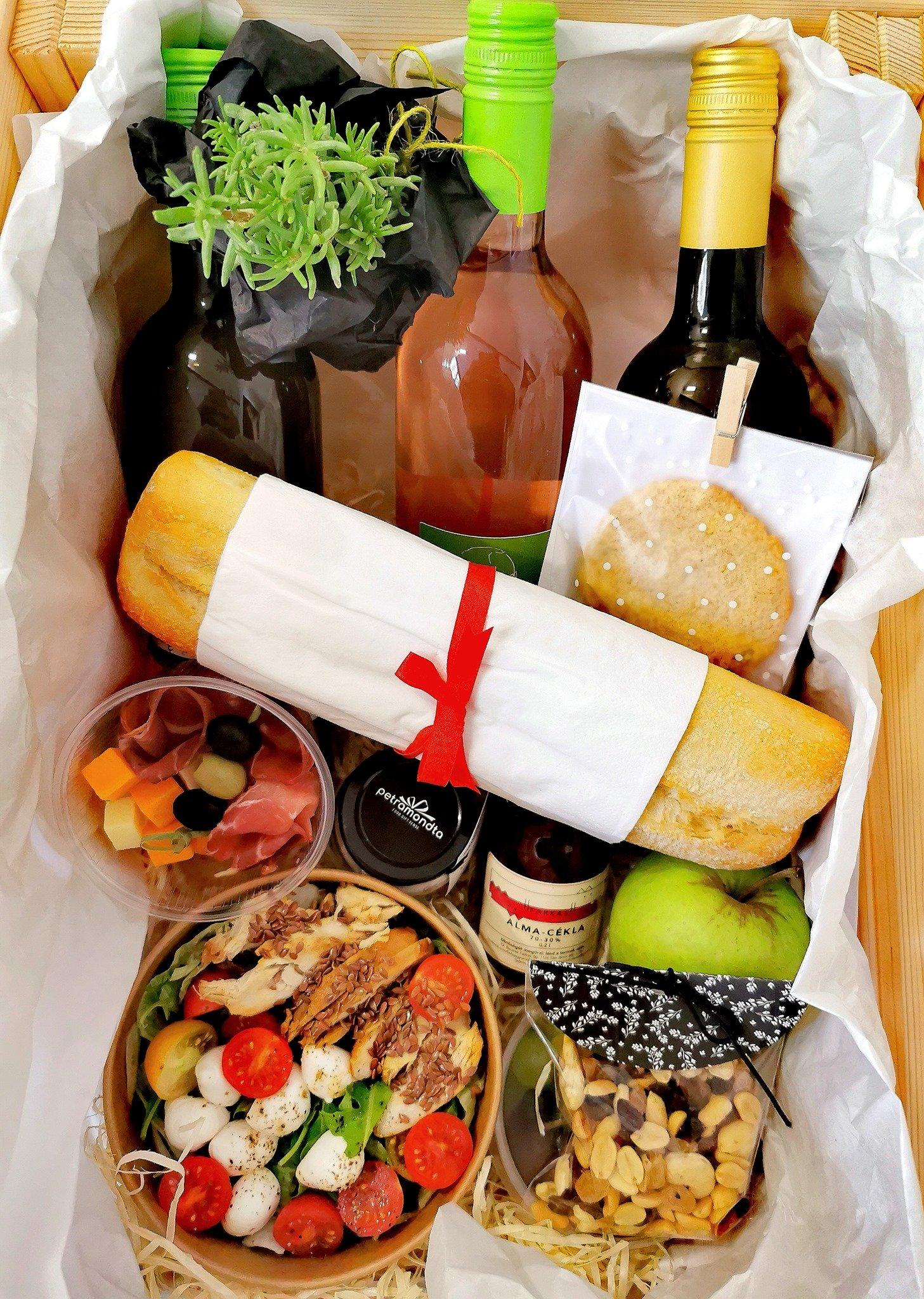Petramondta piknikkosár